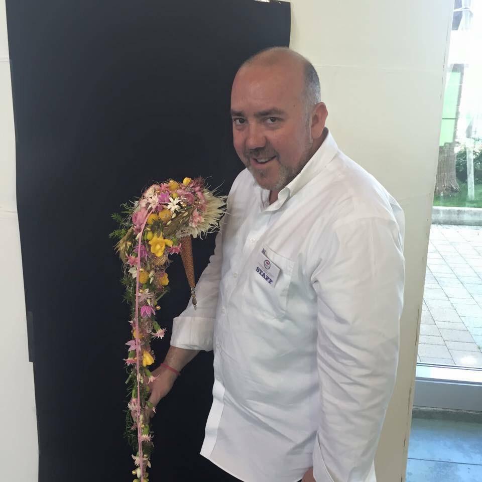 Juan Lluesma en Pescara (Italia)