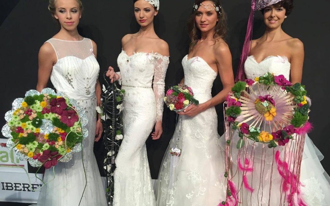 Desfile de novias de la diseñadora valenciana Josefina Huerta en Feria Valencia